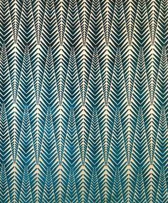 Zebra Cut Velvet Fabric in Silver Blue by Neisha Crosland fab for GCSE art textures or edges