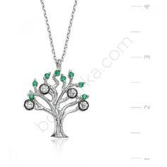 Gümüş Hayat Ağacı Kolye Kapıda Ödeme - BOLmarka.com