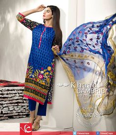 Khaadi Cambric Autumn Collection 2015