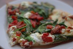 Bonobo's goat cheese pizza -- our favorite is The Marley.