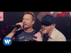 Cole Swindell ft. Dierks Bentley - Flatliner (Official Music Video) - YouTube