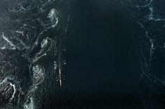 De olympiske roerne Kjetil Borch og Nils Jakob Hoff ror mot verdens sterkeste tidevannsstrøm.