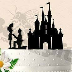 Ariel and Eric Part of your World Inspired Wedding Cake Topper ...