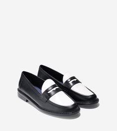 Womens Pinch Campus Penny Loafer
