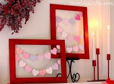 The Kim Six Fix: Valentine's Day Mantle 2014