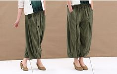 Sunday/Womens Clothing Womens Pants Wide Leg by KelansArtCouture, $73.99