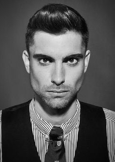 By Carrie Ann. Mad Men inspired slicked back do found on http://www.mens-lifstyle.com.