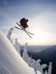 This is the way I ski in my mind.