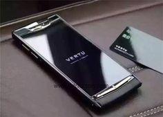 2016 Vertu Signature Touch Luxury Vertu Phone 4G LTE Black Gold Color