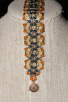 Indian Summer Swarovski Crystal Bracelet by marieellendotcom, $115.00