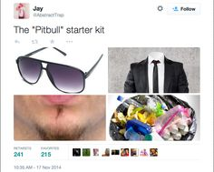 """The """"Pitbull"""" starter kit. Funny Starter Packs, Starter Kit, Dating Sites For Professionals, Divorce For Women, Marriage Couple, Christian Dating Site, Date Outfit Casual, Single Dating, First Dates"""