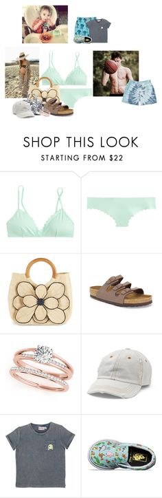 """""""beach"""" by verycareful on Polyvore featuring J.Crew, Mar y Sol, Birkenstock, Mudd and Vilebrequin"""