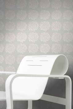 Puketti by Marimekko is one of our favourite wallpaper designs.
