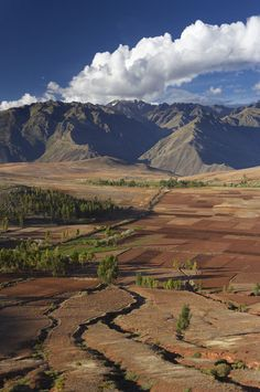 traditional farming in the Sacred Valley, Peru