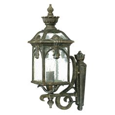 Acclaim Lighting Belmont Outdoor 1 Light Wall Mount Light Fixture - 7101BC