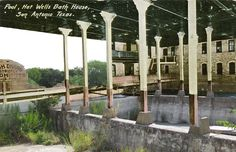 Hot Wells Hotel and Spa (San Anontio, 1.5hrs) Ruins of a once-opulent grand Victorian resort