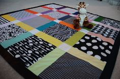 home made tummy time mat