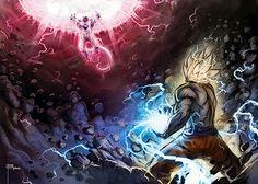 Dragonball Z realistic art  | Dragon Ball Art - Goku Digital Paintings | The Dao of Dragon Ball