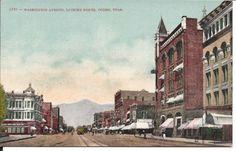 Washington Ave Looking North Ogden Utah