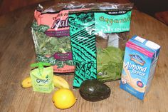 GoGo Greens Smoothie Recipe Ingredients