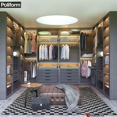 model Price:Poliform Wardrobe model Price: See How Much Jeff Lewis Made on His Most Recent House Flip via See The World's Top 100 Interior Designers For 2019 – Part I Classic Dressing room von Bravo London Ltd closets ideas Small Dressing Rooms, Dressing Room Decor, Dressing Room Closet, Dressing Room Design, Master Closet Design, Walk In Closet Design, Closet Designs, Modern Wardrobe Designs, Wardrobe Room