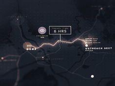 Map Interface by Richard Ballermann