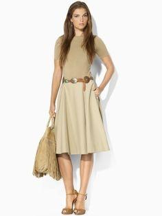 New Melody Skirt - Blue Label Skirts - RalphLauren.com $159