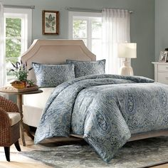 Harbor House Belcourt Cotton 3-piece Duvet Cover Mini Set - Overstock™ Shopping - Great Deals on Harbor House Duvet Covers