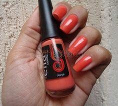 Esmaltemaníaca: Orange - Ella Orange http://www.esmaltemaniaca.com.br/2013/06/orange-ella.html  FP http://www.facebook.com/pages/Esmalte-Maníaca/223271664358917
