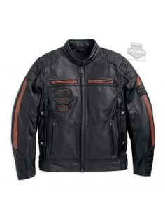 HARLEY-DAVIDSON MENS MOTORCYCLE RALLY TEXTILE RIDING JACKET CE BODY ARMOUR BIKER