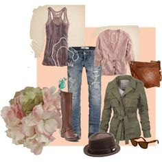Cute spring outfit!