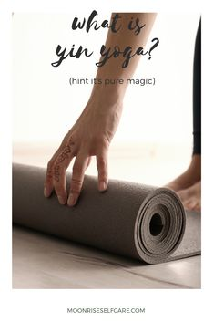 """Are you wondering """"what is yin yoga?"""" (Hint: it's PURE magic✨). Read this piece for a total break down all of the benefits of yin yoga! Yin Yoga Benefits, Yin Poses, Yin Yoga Sequence, Art Of Letting Go, Home Yoga Practice, Yoga Bolster, Yoga Pictures, Hip Openers, Yoga Block"""