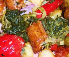 What's Cookin' Italian Style Cuisine: Italian Utica Rome Upstate NY Greens Sauteed Escarole Recipe