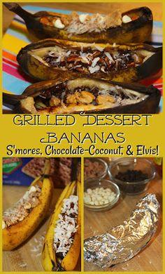 Grilled Dessert Bana