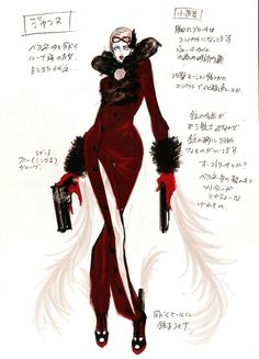 Jeanne Bayonetta Concept Art