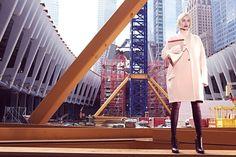 """Über Fashion Marketing: Amber Valletta em """"Status Update"""" - Vogue US"""