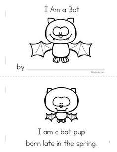Bat Life Cycle Printable from Preschool Printables on