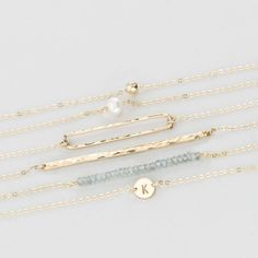 Dainty Gold Jewelry | Simple and Elegant Bracelets
