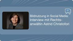 Bildnutzung in Social Media: Interview mit Rechtsanwältin Astrid Christofori #Podcast - Mehr Infos zum Thema auch unter http://vslink.de/internetmarketing