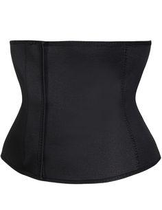 (NKLB40006) Stretchable Black Velcro Closure Waist Slimmer Shaper Plus