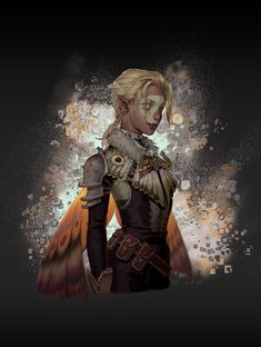 A moth by TT Lu : ImaginaryCharacters Fantasy Character Design, Character Creation, Character Design Inspiration, Character Concept, Character Art, Character Ideas, Concept Art, Dnd Characters, Fantasy Characters