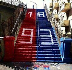 Genoa Cfc, Cricket, Football, Club, Red, Genoa, Soccer, Futbol, American Football