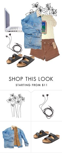 """""""Untitled #43"""" by sighrily on Polyvore featuring Diane Von Furstenberg, DUO, Wrangler and Birkenstock"""