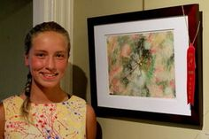 One of our youngest members, Brenna Lipinski, great work Brenna.