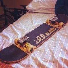 slammed skateboard