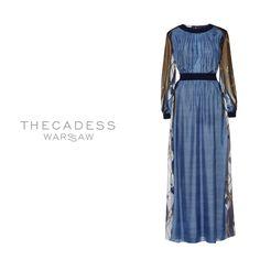 Chiffon dress from the collection autumn winter 2016 Thecadess. Visit the shop thecadess.com  http://thecadess.com/kategoria/suknie-wieczorowe/suknia-lampedusa