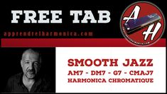 Smooth Jazz Am7 - Dm7 - G7 - CMaj7 Harmonica chromatique