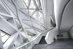 Designed by Zaha Hadid, built with HI-MACS®: Opera house by Zaha Hadid in China