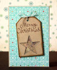 scrapperia: Weihnachtskartentag im SBT #handmade #postcard #card #handmadepostcard #diy