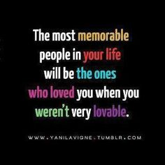 I have had a couple of those angels in my life.  And thank God for them.  Since then, I have tried to emulate them.